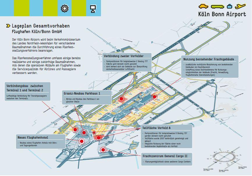 Planfeststellungsverfahren des Flughafens Köln/Bonn: Erörterungstermin steht fest